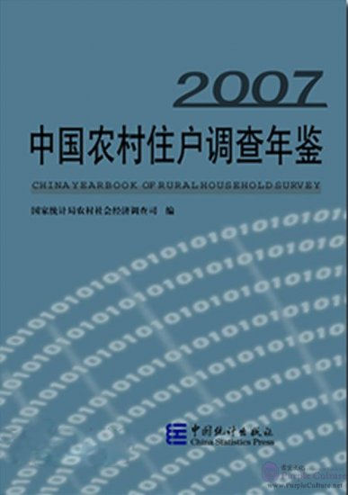 China Yearbook of Rural Household Survey 2007 - Click Image to Close