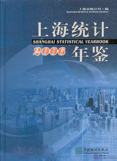 Shanghai Statistical Yearbook 2006 (1 Book + 1 CD-ROM) - Click Image to Close