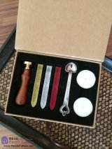 Chinese Characters Wax Seal Kit