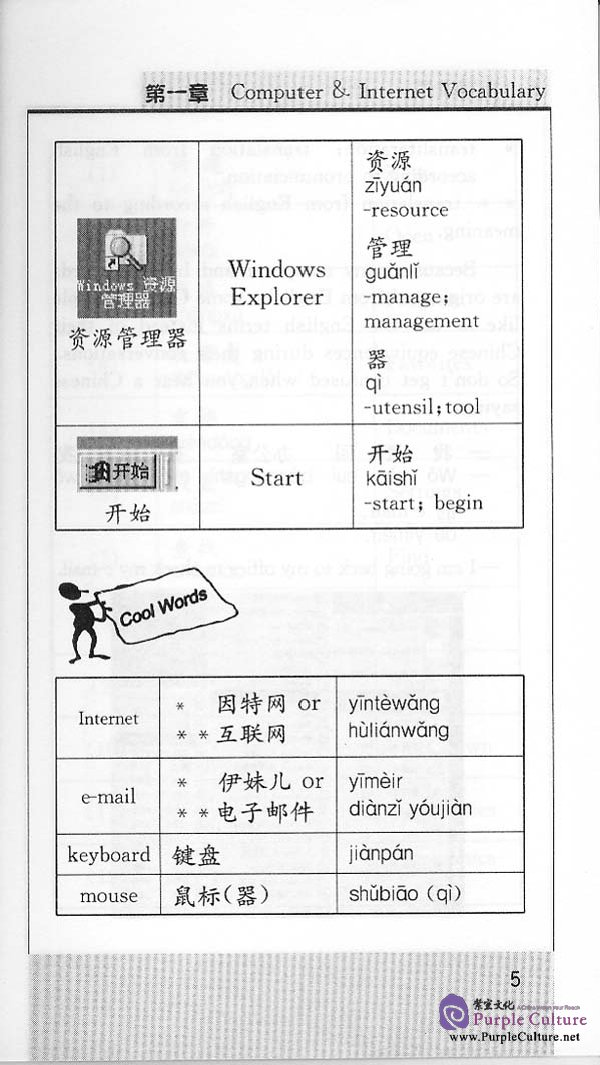Sample pages of Internet Chinese (ISBN:7561912536)