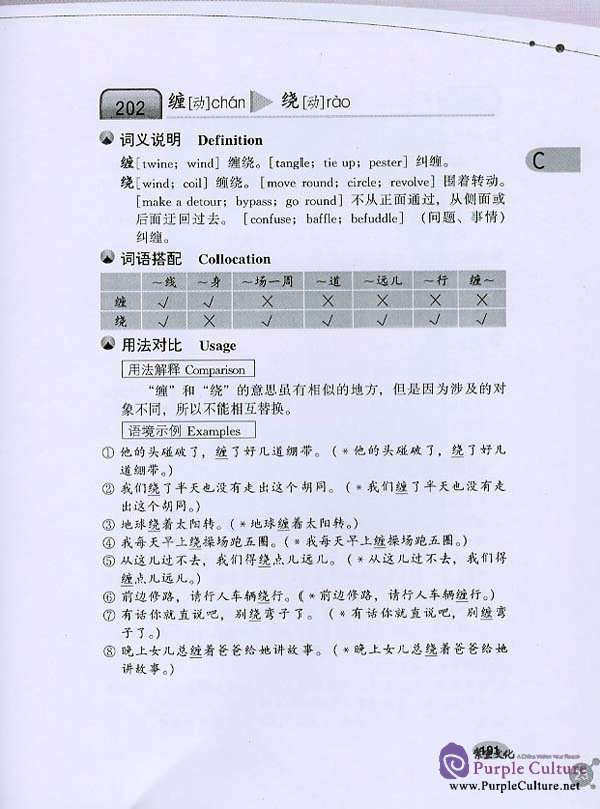Sample pages of 1700 Groups of Frequently Used Chinese Synonyms (ISBN:9787561912652 756191265X)