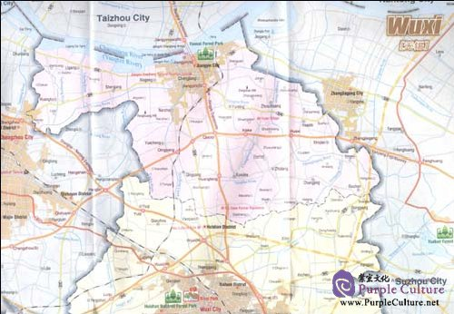 Sample pages of Tourist Map Of Wuxi (ISBN:9787800315756)