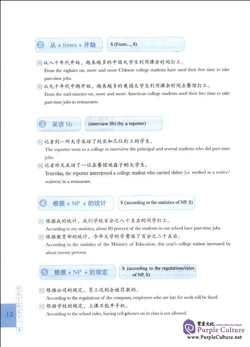 Sample pages of Comprehensive Chinese:Understanding the People and the World (A)(With CD) (ISBN:9787040216530)