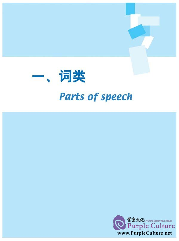 Sample pages of Chinese Grammar - Broken Down Into 100 Items (Basic and Intermediate Levels)(in Chinese and English) (ISBN:7561929676,9787561929674)