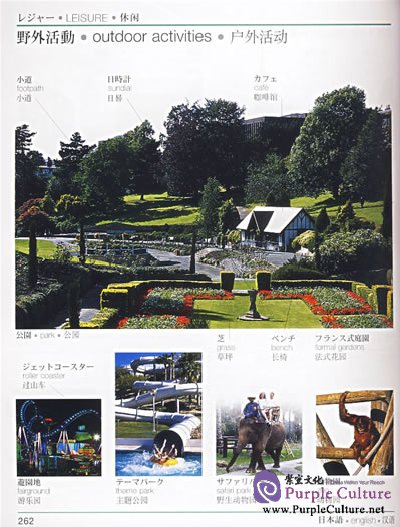 Sample pages of Japanese-English-Chinese Visual Dictionary (ISBN:7560062148, 9787560062143)