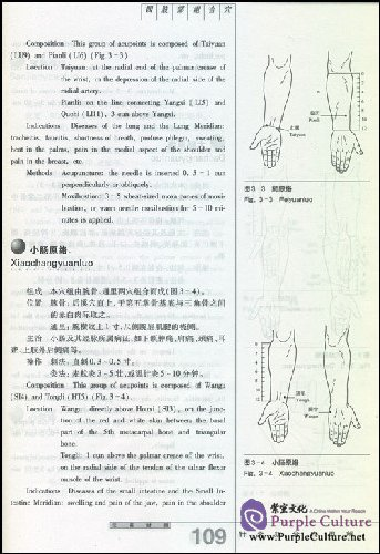 Sample pages of Illustration of Composed Acupoints in Acupuncture-Moxibustion Use (Chinese-English)  2nd Edition (ISBN:9787532390984)