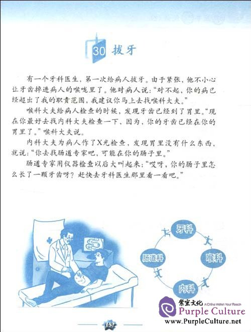 Sample pages of Learning Chinese Through Stories 2 (with 1 MP3) (ISBN:9787301180792)