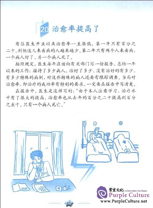 Sample pages of Learning Chinese Through Stories 2 (with 1 MP3)
