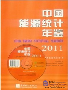 China Energy Statistical Yearbook 2011 (with 1 CD-ROM) - Click Image to Close