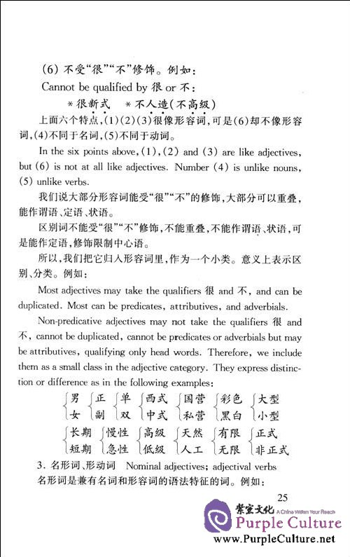 Sample pages of A Concise Chinese Grammar (ISBN:9787800525483)