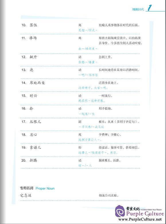 Sample pages of Jump High - A Systematic Chinese Course: Conversation Textbook 6 (with CD) (ISBN:9787561933459)