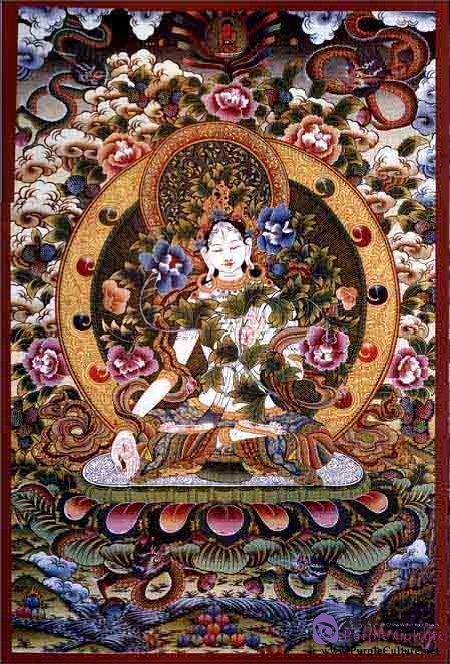 Sample pages of World 's most beautiful Thangka Volume 2 : White Tara (ISBN:9787552701432)