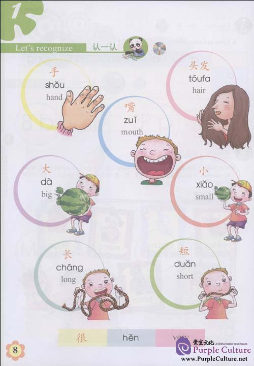 Sample pages of Experiencing Chinese - Elementary School 2 Student Book (with 1CD) (ISBN:9787040258592)