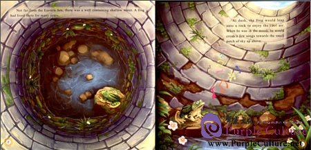 Sample pages of Illustrated Classic Chinese Tales: Fable Stories: The Frog in the Well (ISBN:9787508526690)