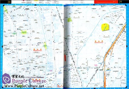 Sample pages of Shanghai Road Directory 2014 (ISBN:7547821537, 9787547821534)