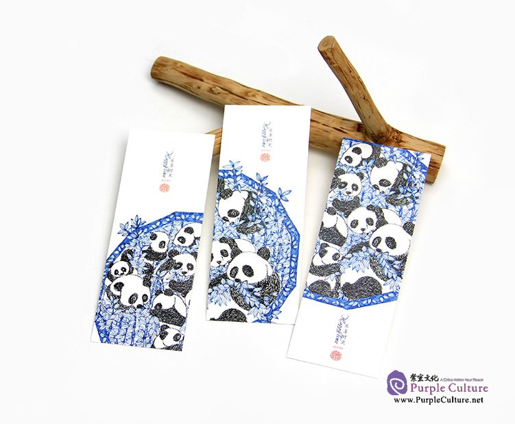Table of contents: Hand-Painted Bookmark: Cute Panda (3 pieces)