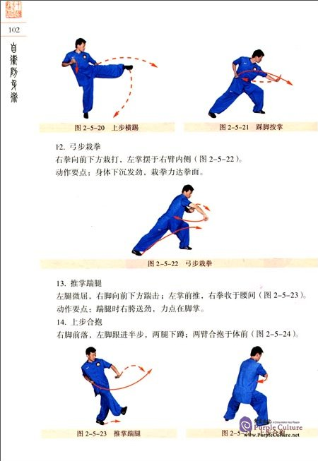 Sample pages of Textbook Series of Chinese Wushu Duanwei System: Wushu Self-defence (with DVD) (ISBN:9787040258202, 704025820X)