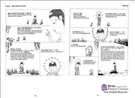 Sample pages of Chinese Traditional Culture Comic - The Eastern Bible: Whispers of Wisdom (ISBN:7514343806, 9787514343809)