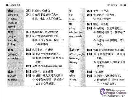 Sample pages of HSK Breakthrough (2nd Edition) Vocabulary Level 4 (ISBN:9787513571142)