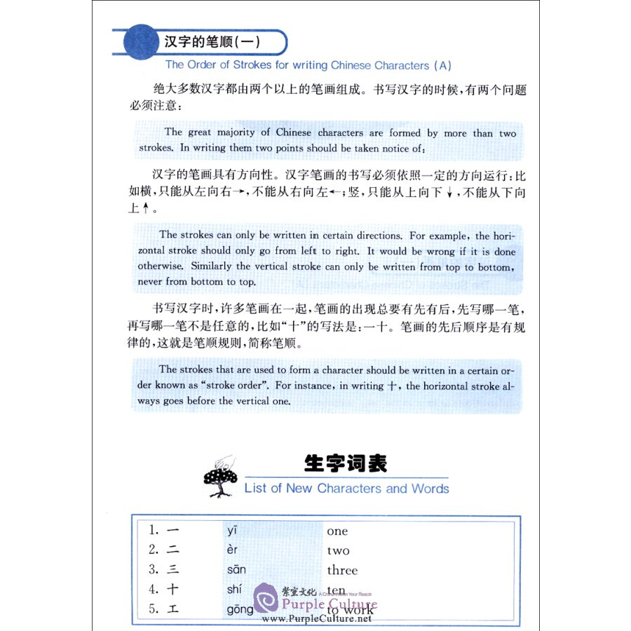 Sample pages of Leaning Chinese Characters From Ms.Zhang: Reading and Writing Chinese Characters (A) - Textbook (ISBN:9787561912942/7561912943)