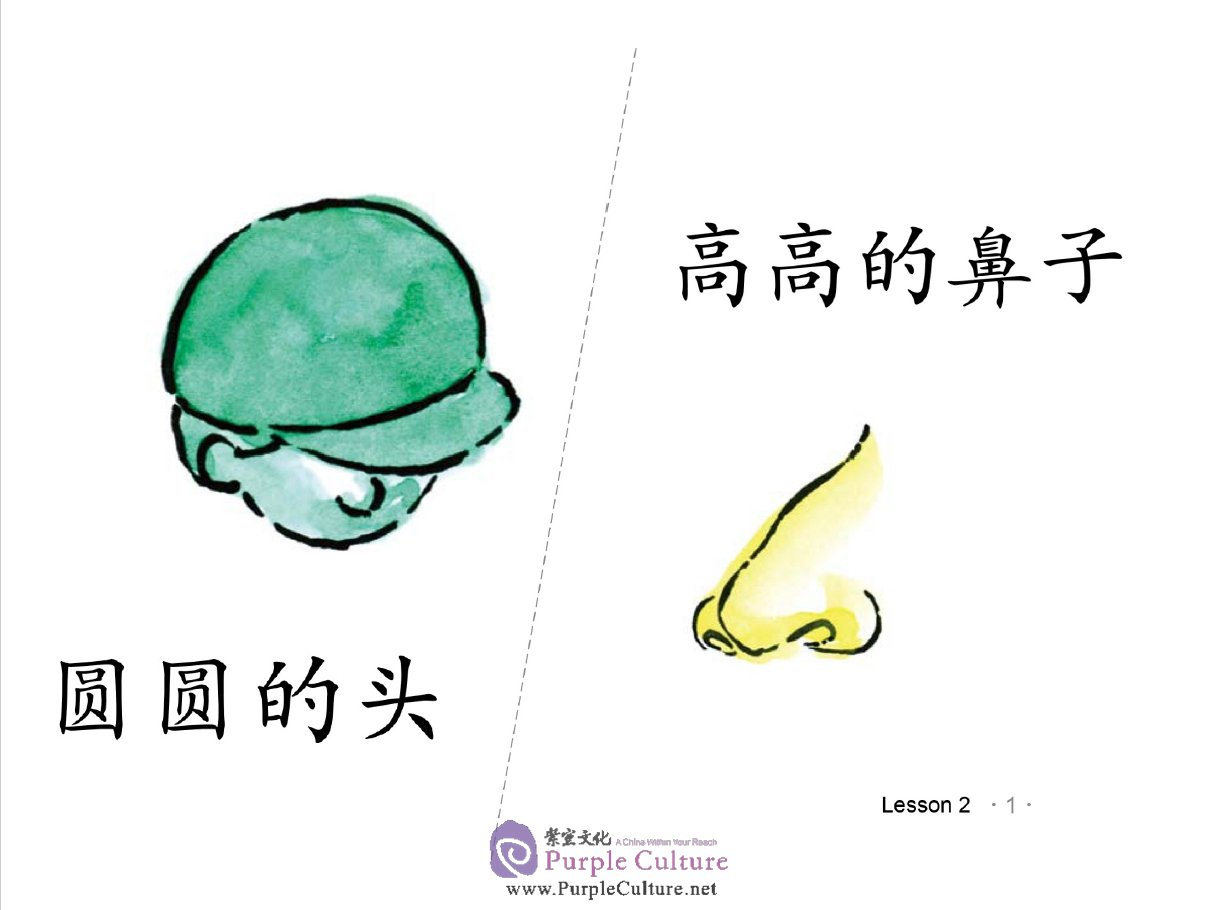 Sample pages of Easy Steps to Chinese - Picture Flashcards 3 (PowerPoint Version)