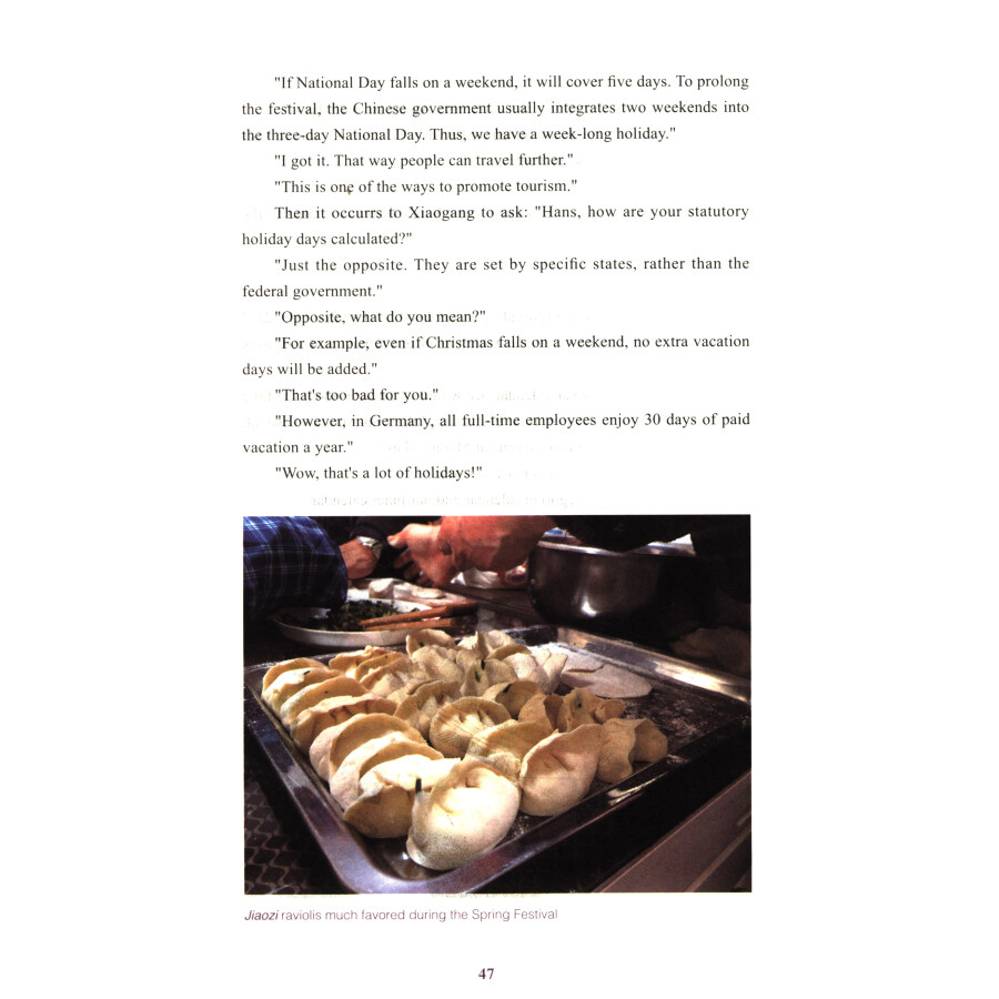 Sample pages of First Visit to China: The Story of A German Exchange Student in China (ISBN:9787508540979)