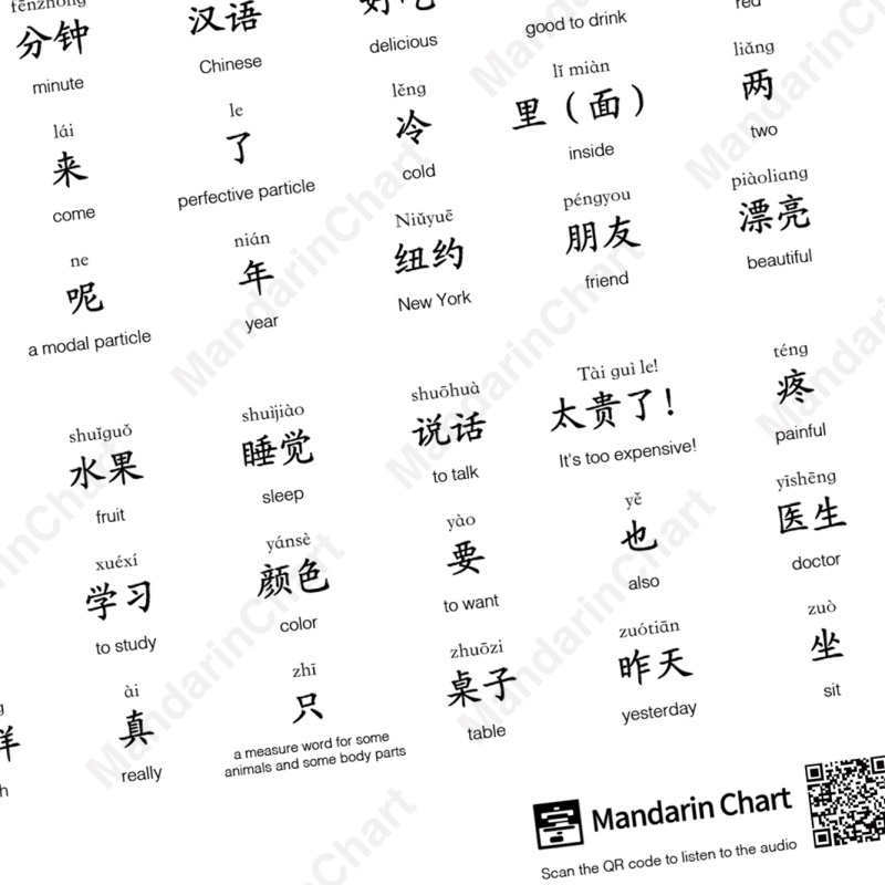 Sample pages of YCT Standard Course 2 - Wall Chart