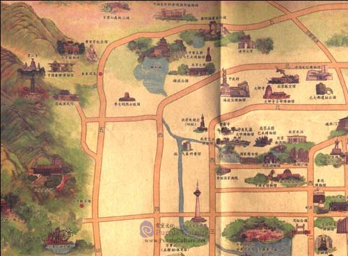 Sample pages of Beijing Hand-drawn Map (ISBN:9787503160745)