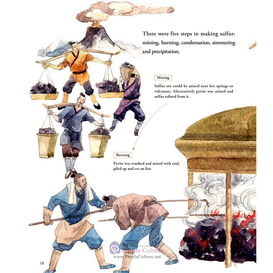 Sample pages of Illustrated History of Chinese Science & Technology: The Story of Gunpowder (ISBN:9787508541259)