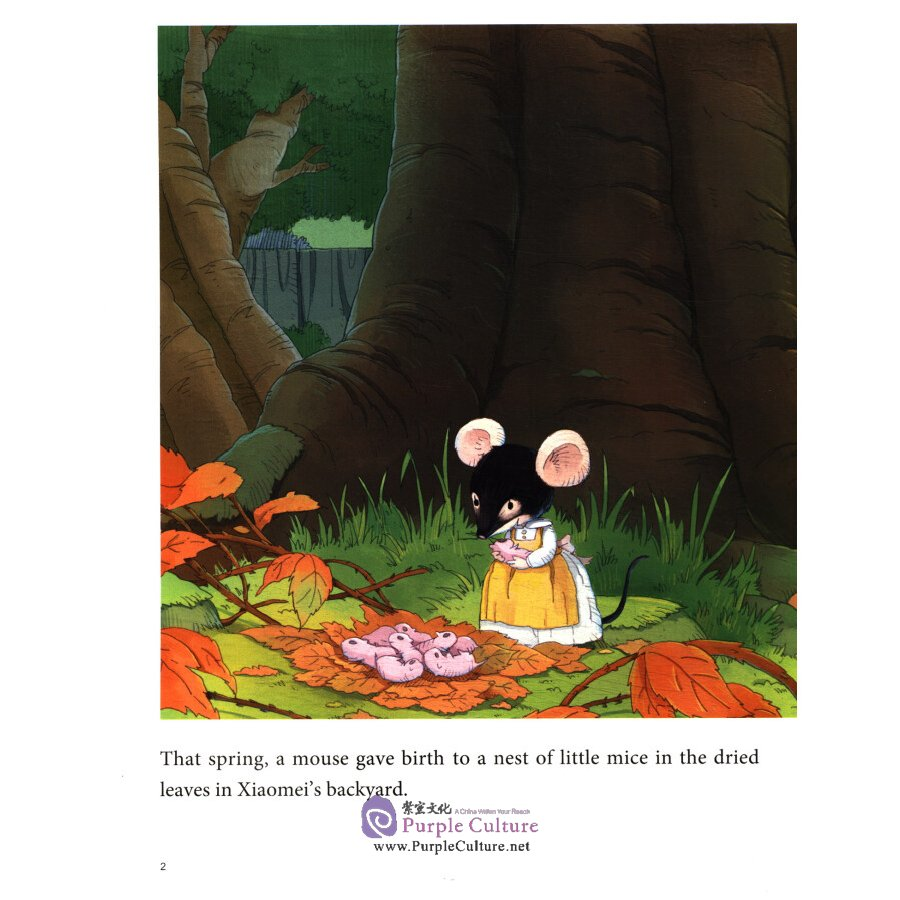 Sample pages of My First Chinese Storybook: The Stories of Xiaomei 3: The Mouse Family (ISBN:9787513818766)